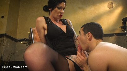Photo number 13 from Transexual Mommy Dearest shot for TS Seduction on Kink.com. Featuring Morgan Bailey and Corbin Dallas in hardcore BDSM & Fetish porn.