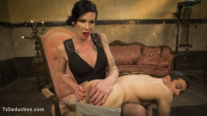 Photo number 14 from Transexual Mommy Dearest shot for TS Seduction on Kink.com. Featuring Morgan Bailey and Corbin Dallas in hardcore BDSM & Fetish porn.