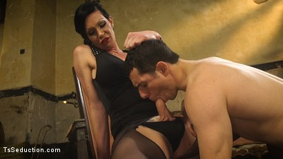Photo number 15 from Transexual Mommy Dearest shot for TS Seduction on Kink.com. Featuring Morgan Bailey and Corbin Dallas in hardcore BDSM & Fetish porn.