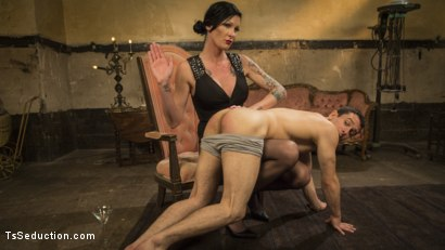 Photo number 2 from Transexual Mommy Dearest shot for TS Seduction on Kink.com. Featuring Morgan Bailey and Corbin Dallas in hardcore BDSM & Fetish porn.