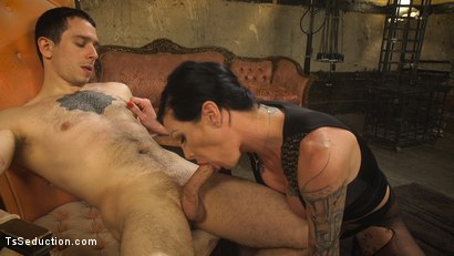 Photo number 3 from Transexual Mommy Dearest shot for TS Seduction on Kink.com. Featuring Morgan Bailey and Corbin Dallas in hardcore BDSM & Fetish porn.