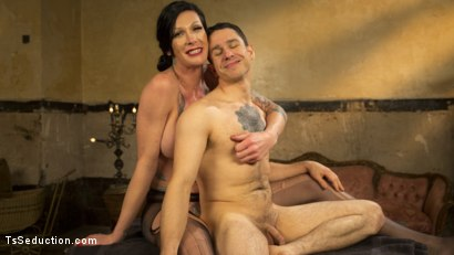 Photo number 8 from Transexual Mommy Dearest shot for TS Seduction on Kink.com. Featuring Morgan Bailey and Corbin Dallas in hardcore BDSM & Fetish porn.