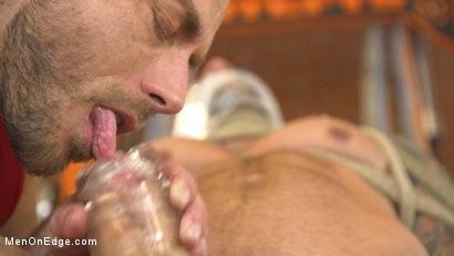 Photo number 3 from Cock Workout shot for Men On Edge on Kink.com. Featuring Dolf Dietrich in hardcore BDSM & Fetish porn.