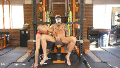 Photo number 4 from Cock Workout shot for Men On Edge on Kink.com. Featuring Dolf Dietrich in hardcore BDSM & Fetish porn.