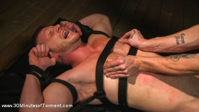Photo number 9 from Brian Bonds takes the 30MT Challenge! shot for 30 Minutes of Torment on Kink.com. Featuring Brian Bonds in hardcore BDSM & Fetish porn.