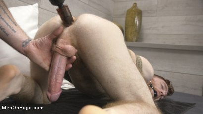 Photo number 9 from Online Hookup Ends With Tickling & Edging in Bondage for a Hung Ginger shot for Men On Edge on Kink.com. Featuring Seamus O'Reilly in hardcore BDSM & Fetish porn.