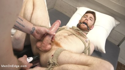 Photo number 14 from Online Hookup Ends With Tickling & Edging in Bondage for a Hung Ginger shot for Men On Edge on Kink.com. Featuring Seamus O'Reilly in hardcore BDSM & Fetish porn.