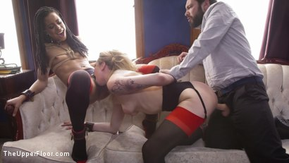 Photo number 19 from Duties of a Submissive Anal Wife shot for The Upper Floor on Kink.com. Featuring Tommy Pistol, Kira Noir and Dahlia Sky in hardcore BDSM & Fetish porn.
