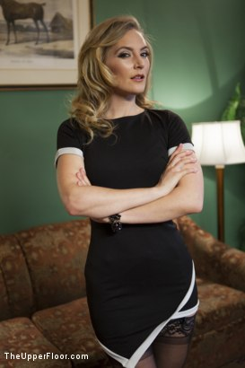 Photo number 17 from Crazy Couple Torments & Trains the Divorce Mediator shot for The Upper Floor on Kink.com. Featuring Tommy Pistol, Mona Wales and Joseline Kelly in hardcore BDSM & Fetish porn.