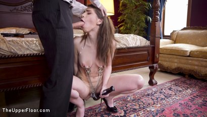 Photo number 5 from Crazy Couple Torments & Trains the Divorce Mediator shot for The Upper Floor on Kink.com. Featuring Tommy Pistol, Mona Wales and Joseline Kelly in hardcore BDSM & Fetish porn.