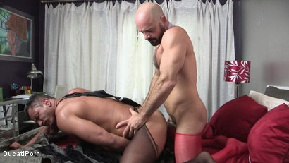Photo number 15 from Walk In Closet: Adam Russo, Angelo Marconi shot for Ducati Porn on Kink.com. Featuring Adam Russo in hardcore BDSM & Fetish porn.