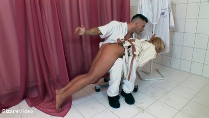 Photo number 16 from Fuck Me Doctor shot for Bizarre Video on Kink.com. Featuring  in hardcore BDSM & Fetish porn.