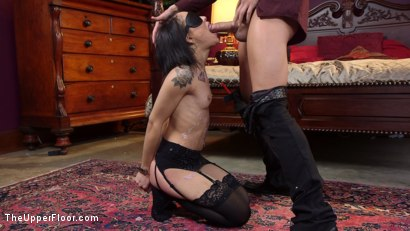 Photo number 15 from Facts of Desire: Petite 19 Year Old Trained by Anal Slut Step-Mom & Sadistic Butler shot for The Upper Floor on Kink.com. Featuring Xander Corvus, Holly Hendrix and Syren de Mer in hardcore BDSM & Fetish porn.