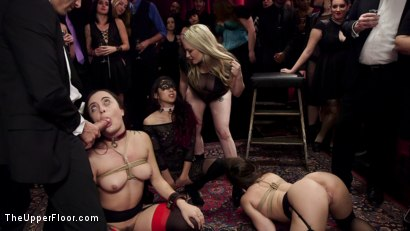 Photo number 16 from Holiday BDSM Slut Orgy turns Fangirl to Sex Slave shot for The Upper Floor on Kink.com. Featuring Xander Corvus, Aiden Starr, Kimber Woods and Roxanne Rae in hardcore BDSM & Fetish porn.