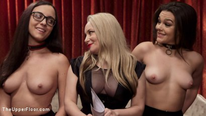Photo number 12 from Holiday BDSM Slut Orgy turns Fangirl to Sex Slave shot for The Upper Floor on Kink.com. Featuring Xander Corvus, Aiden Starr, Kimber Woods and Roxanne Rae in hardcore BDSM & Fetish porn.