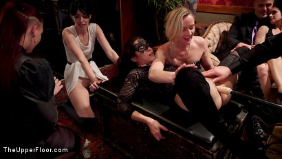 Photo number 10 from Horny Whores Holiday Orgy shot for The Upper Floor on Kink.com. Featuring Xander Corvus, Aiden Starr, Kimber Woods and Roxanne Rae in hardcore BDSM & Fetish porn.
