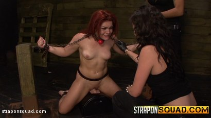 Photo number 9 from Brooklyn Daniels and Mena Li Train Kimber Woods to be a Sex Slave shot for Strapon Squad on Kink.com. Featuring Kimber Woods, Brooklyn Daniels and Mena Mason in hardcore BDSM & Fetish porn.