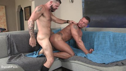 Photo number 5 from Tex's Raw Vacation: Angelo Marconi, Tex Davidson shot for Ducati Porn on Kink.com. Featuring Tex Davidson in hardcore BDSM & Fetish porn.