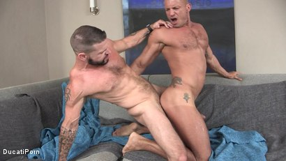 Photo number 7 from Tex's Raw Vacation: Angelo Marconi, Tex Davidson shot for Ducati Porn on Kink.com. Featuring Tex Davidson in hardcore BDSM & Fetish porn.