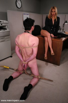 Photo number 6 from Isis Love and Johnny Law shot for Men In Pain on Kink.com. Featuring Isis Love and Johnny Law in hardcore BDSM & Fetish porn.