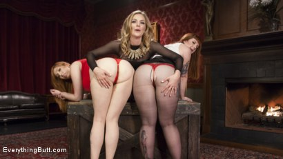 Photo number 2 from Step-Sisters Gape for Inheritance  shot for Everything Butt on Kink.com. Featuring Mona Wales, Barbary Rose and Lauren Phillips in hardcore BDSM & Fetish porn.