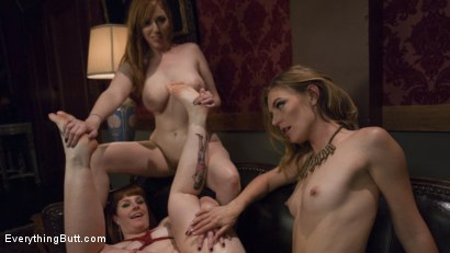 Photo number 10 from Step-Sisters Gape for Inheritance  shot for Everything Butt on Kink.com. Featuring Mona Wales, Barbary Rose and Lauren Phillips in hardcore BDSM & Fetish porn.