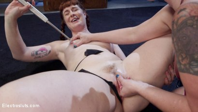 Photo number 4 from How Much Will You Take?: Electroslut Barbary Rose Serves Mistress Kara shot for Electro Sluts on Kink.com. Featuring Mistress Kara and Barbary Rose in hardcore BDSM & Fetish porn.