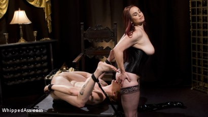 Photo number 13 from Bella Rossi Breaks in Redhead Lesbian Anal Slave  shot for Whipped Ass on Kink.com. Featuring Lauren Phillips and Bella Rossi in hardcore BDSM & Fetish porn.