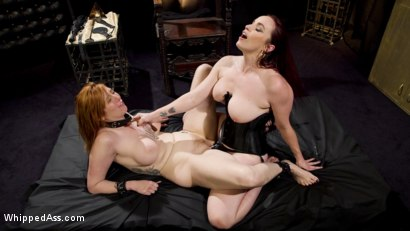 Photo number 19 from Bella Rossi Breaks in Redhead Lesbian Anal Slave  shot for Whipped Ass on Kink.com. Featuring Lauren Phillips and Bella Rossi in hardcore BDSM & Fetish porn.