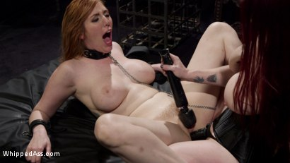 Photo number 23 from Bella Rossi Breaks in Redhead Lesbian Anal Slave  shot for Whipped Ass on Kink.com. Featuring Lauren Phillips and Bella Rossi in hardcore BDSM & Fetish porn.