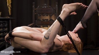 Photo number 12 from Bella Rossi Breaks in Redhead Lesbian Anal Slave  shot for Whipped Ass on Kink.com. Featuring Lauren Phillips and Bella Rossi in hardcore BDSM & Fetish porn.