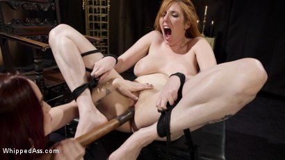 Photo number 15 from Bella Rossi Breaks in Redhead Lesbian Anal Slave  shot for Whipped Ass on Kink.com. Featuring Lauren Phillips and Bella Rossi in hardcore BDSM & Fetish porn.