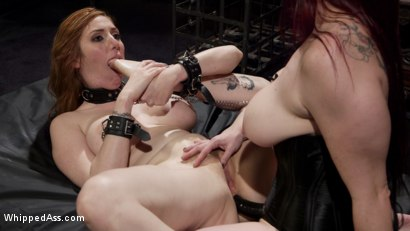 Photo number 21 from Bella Rossi Breaks in Redhead Lesbian Anal Slave  shot for Whipped Ass on Kink.com. Featuring Lauren Phillips and Bella Rossi in hardcore BDSM & Fetish porn.
