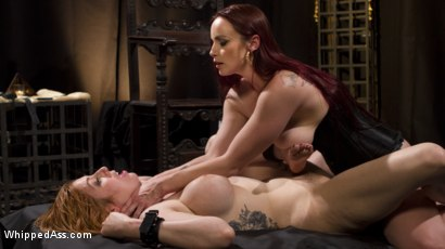 Photo number 22 from Bella Rossi Breaks in Redhead Lesbian Anal Slave  shot for Whipped Ass on Kink.com. Featuring Lauren Phillips and Bella Rossi in hardcore BDSM & Fetish porn.