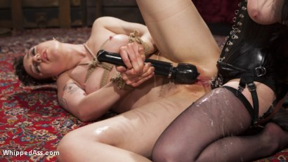 Photo number 15 from Beat, Fisted, and Fucked!: Lilith Luxe submits to Veruca James shot for Whipped Ass on Kink.com. Featuring Veruca James and Lilith Luxe in hardcore BDSM & Fetish porn.