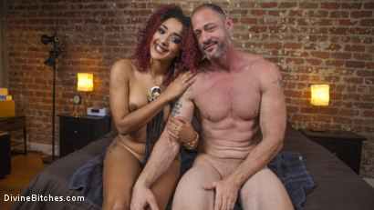 Photo number 5 from Drown in my squirt, slaveboy! shot for Divine Bitches on Kink.com. Featuring D. Arclyte and Daisy Ducati in hardcore BDSM & Fetish porn.