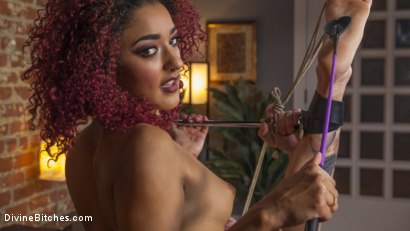 Photo number 17 from Drown in my squirt, slaveboy! shot for Divine Bitches on Kink.com. Featuring D. Arclyte and Daisy Ducati in hardcore BDSM & Fetish porn.