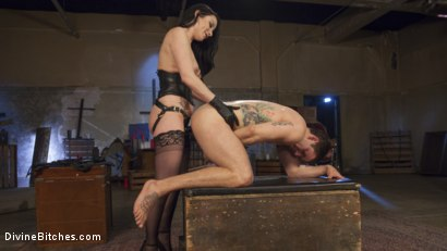 Photo number 14 from Veruca James Presents: Divine Pet Obedience Training 101 shot for Divine Bitches on Kink.com. Featuring Veruca James and Reed Jameson in hardcore BDSM & Fetish porn.
