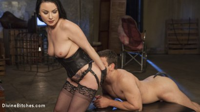 Photo number 11 from Veruca James Presents: Divine Pet Obedience Training 101 shot for Divine Bitches on Kink.com. Featuring Veruca James and Reed Jameson in hardcore BDSM & Fetish porn.