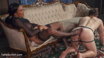 Photo number 14 from Yasmine Lee's Relentless Hard Pounding Cock shot for TS Seduction on Kink.com. Featuring Rick Fantana and Yasmin Lee in hardcore BDSM & Fetish porn.
