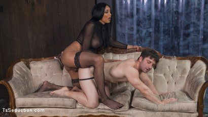 Photo number 4 from Yasmine Lee's Relentless Hard Pounding Cock shot for TS Seduction on Kink.com. Featuring Rick Fantana and Yasmin Lee in hardcore BDSM & Fetish porn.