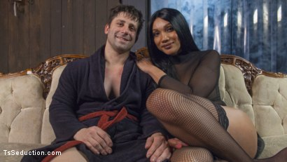 Photo number 5 from Yasmine Lee's Relentless Hard Pounding Cock shot for TS Seduction on Kink.com. Featuring Rick Fantana and Yasmin Lee in hardcore BDSM & Fetish porn.