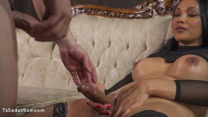 Photo number 6 from Yasmine Lee's Relentless Hard Pounding Cock shot for TS Seduction on Kink.com. Featuring Rick Fantana and Yasmin Lee in hardcore BDSM & Fetish porn.