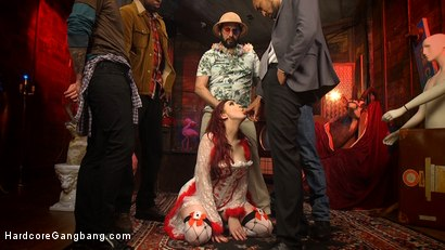 Photo number 3 from Damn Fine Pie! A Twin Peaks Parody Gangbang shot for Hardcore Gangbang on Kink.com. Featuring Amber Ivy , Tommy Pistol, Owen Gray, Will Havoc, Mickey Mod and Jon Jon in hardcore BDSM & Fetish porn.