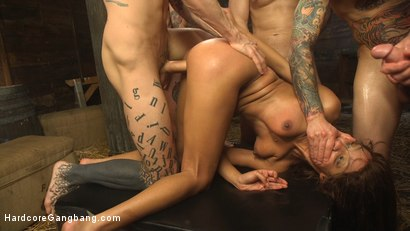 Photo number 16 from The Holy Vessel shot for Hardcore Gangbang on Kink.com. Featuring Small Hands, Owen Gray, Charles Dera, Will Havoc, Verta  and Tarzan in hardcore BDSM & Fetish porn.