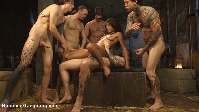 Photo number 25 from The Holy Vessel shot for Hardcore Gangbang on Kink.com. Featuring Small Hands, Owen Gray, Charles Dera, Will Havoc, Verta  and Tarzan in hardcore BDSM & Fetish porn.