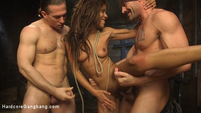 Photo number 8 from The Holy Vessel shot for Hardcore Gangbang on Kink.com. Featuring Small Hands, Owen Gray, Charles Dera, Will Havoc, Verta  and Tarzan in hardcore BDSM & Fetish porn.