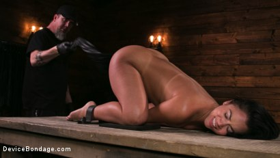 Photo number 12 from A Rose By Any Other Name shot for Device Bondage on Kink.com. Featuring Kristina Rose and The Pope in hardcore BDSM & Fetish porn.