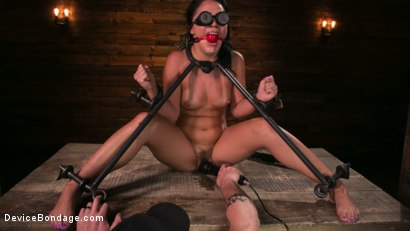Photo number 14 from A Rose By Any Other Name shot for Device Bondage on Kink.com. Featuring Kristina Rose and The Pope in hardcore BDSM & Fetish porn.