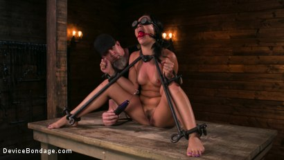 Photo number 5 from A Rose By Any Other Name shot for Device Bondage on Kink.com. Featuring Kristina Rose and The Pope in hardcore BDSM & Fetish porn.